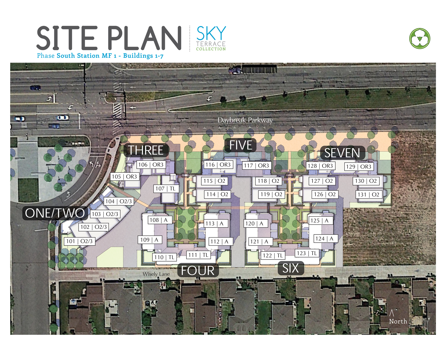 South Station at Daybreak Site Plan